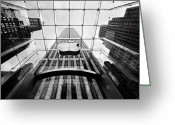 Architecture Greeting Cards - NYC Big Apple Greeting Card by Nina Papiorek