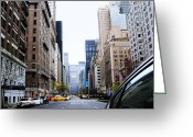 Midtown Greeting Cards - Nyc010 Greeting Card by Svetlana Sewell