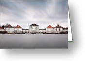 Nymphenburg Greeting Cards - Nymphenburg Castle Greeting Card by Carlos Malvar