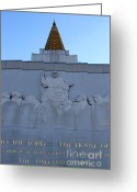 Harold Burton Greeting Cards - Oakland California Temple . The Church of Jesus Christ of Latter-Day Saints . 7D11333 Greeting Card by Wingsdomain Art and Photography