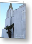 Harold Burton Greeting Cards - Oakland California Temple . The Church of Jesus Christ of Latter-Day Saints . 7D11335 Greeting Card by Wingsdomain Art and Photography