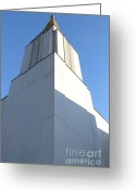 Harold Burton Greeting Cards - Oakland California Temple . The Church of Jesus Christ of Latter-Day Saints . 7D11337 Greeting Card by Wingsdomain Art and Photography
