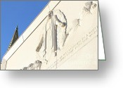 Harold Burton Greeting Cards - Oakland California Temple . The Church of Jesus Christ of Latter-Day Saints . 7D11351 Greeting Card by Wingsdomain Art and Photography