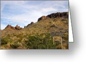 Oatman Greeting Cards - Oatman Greeting Card by Kristin Elmquist