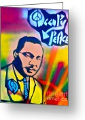 99 Percent Greeting Cards - Occupy DR. KING Greeting Card by Tony B Conscious