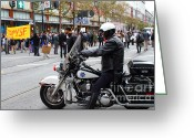 Recession Greeting Cards - Occupy SF . 7D9739 Greeting Card by Wingsdomain Art and Photography