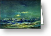 Julianne Felton Greeting Cards - Ocean 1 Greeting Card by Julianne Felton