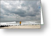Storm Prints Greeting Cards - Ocean 17 Greeting Card by Joyce StJames