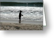 Surf Photos Art Greeting Cards - Ocean 18 Greeting Card by Joyce StJames