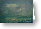 Julianne Felton Greeting Cards - Ocean 2 Greeting Card by Julianne Felton
