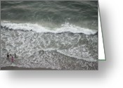 Birdseye Greeting Cards - Ocean Breeze 39 Greeting Card by Debbie Pippin