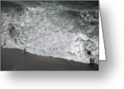 Birdseye Greeting Cards - Ocean Breezes 38 Greeting Card by Debbie Pippin
