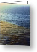 Offshore Greeting Cards - Ocean Spring Greeting Card by Viktor Savchenko