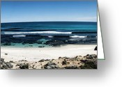 Coffin Greeting Cards - Oceans Breadth  Greeting Card by Douglas Barnard
