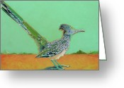Runner Pastels Greeting Cards - Of Two Minds Greeting Card by Tracy L Teeter