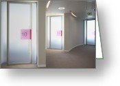 Number 12 Greeting Cards - Office Meeting Rooms Greeting Card by Dave & Les Jacobs