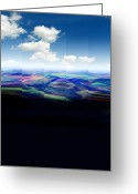 Environmental Damage Greeting Cards - Oil Spill, Artwork Greeting Card by Victor Habbick Visions