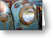 Brian Kerls Greeting Cards - Old and Rusty Greeting Card by Brian Kerls
