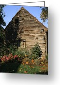 Ellicott Greeting Cards - Old Barn In Ellicott City, Maryland Greeting Card by Gina Martin