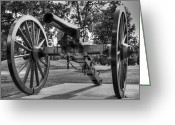 Armament Greeting Cards - Old Boom Greeting Card by Ricky Barnard