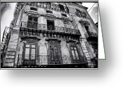 Juliet Greeting Cards - Old Building in Sicily Greeting Card by Madeline Ellis