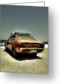 Cart Greeting Cards - Old Car Greeting Card by Joana Kruse