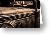Ron Roberts Photography Framed Prints Greeting Cards - Old Chevy Greeting Card by Ron Roberts