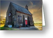 Church Photo Greeting Cards - Old Church Greeting Card by Charuhas Images