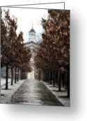Independence Hall Greeting Cards - Old City Hall Philadelphia Greeting Card by Bill Cannon