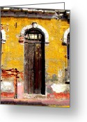 Image Gypsies Greeting Cards - Old Door 2 by Darian Day Greeting Card by Olden Mexico