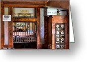 Mail Box Photo Greeting Cards - Old Fashion Post Office Greeting Card by Paul Ward