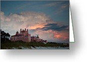 Don Greeting Cards - Old Florida Hotel Greeting Card by Patrick  Flynn