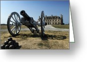 Shed Photo Greeting Cards - Old Fort Niagara Greeting Card by Peter Chilelli