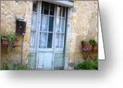 South France Greeting Cards - Old French Entree SouthWest Greeting Card by Dagmar Ceki