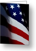 4th Of July Photo Greeting Cards - Old Glory - The Flag Of A Proud Country Greeting Card by Steven Milner