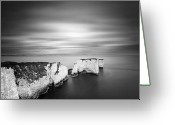 Harry Greeting Cards - Old Harry Rocks Greeting Card by Chris Conway