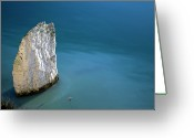 Harry Greeting Cards - Old Harry Rocks Greeting Card by Neil Bonnar Photography