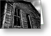 Abandoned Houses Digital Art Greeting Cards - Old House Greeting Card by Amanda Barcon