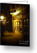 Meat Market Greeting Cards - Old Meat Market Greeting Card by Michelle Frizzell-Thompson