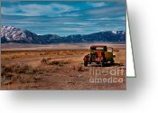 Photgraphy Greeting Cards - Old Pickup Greeting Card by Robert Bales