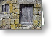 Home Greeting Cards - Old Rural House Greeting Card by Carlos Caetano
