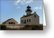 Point Loma Greeting Cards - Old Sentry Greeting Card by Steve Parr