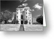 Louisiana Greeting Cards - Old State Capital Greeting Card by Scott Pellegrin