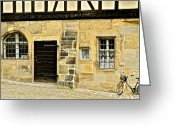 Bamberg Greeting Cards - Old Stone Building in Bamberg Greeting Card by Kirsten Giving