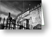Bourbon Greeting Cards - Old Taylors Gate Greeting Card by Wayne Stacy
