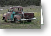 Adrienne Petterson Greeting Cards - Old Truck in Colorado Greeting Card by Adrienne Petterson