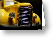 Head Lights Greeting Cards - Old Work Horse Greeting Card by Ed Smith