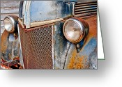 Bonnes Eyes Fine Art Photography Greeting Cards - Ole Rusty Greeting Card by Bonnes Eyes Fine Art Photography