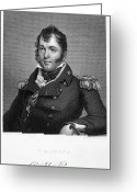 Autograph Greeting Cards - Oliver Hazard Perry Greeting Card by Granger