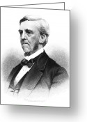 Autograph Greeting Cards - Oliver Wendell Holmes (1809-1894) Greeting Card by Granger